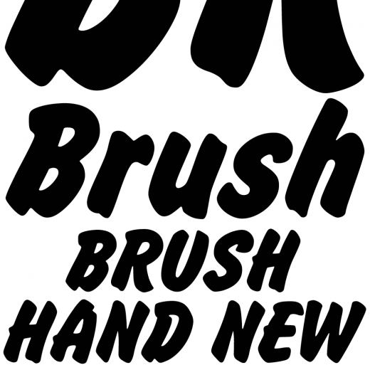 Brush Hand New