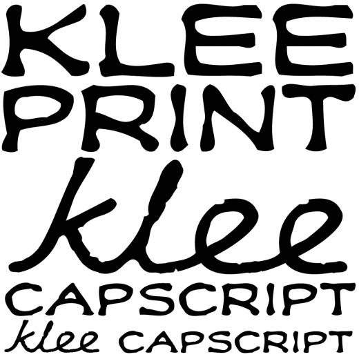 Klee Print & CapScript