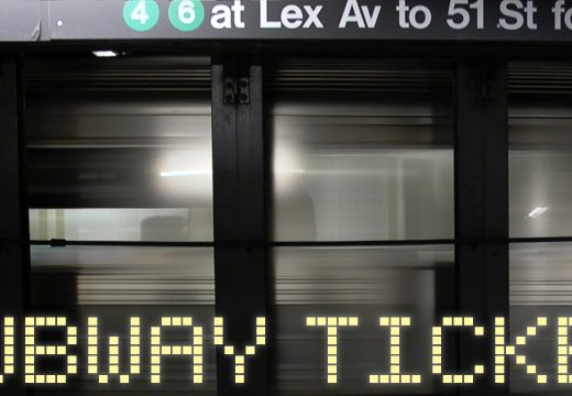 Subway Ticker