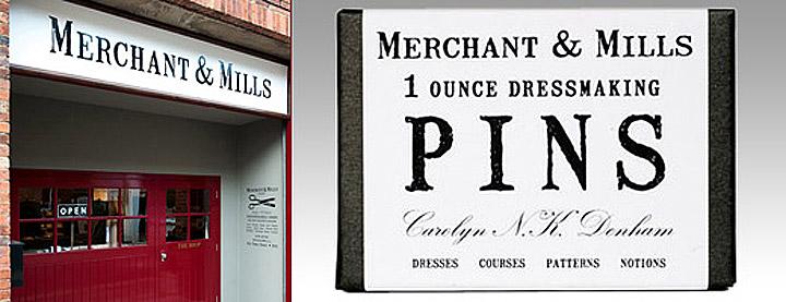Mailart Rubberstamp - Merchant & Mills