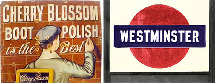 Cherry Blossom & Westminster Signs