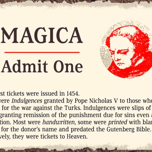 Magica ticket