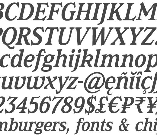 Magica Medium Italic