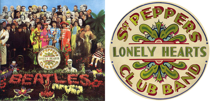 The Sgt Pepper Fonts K Type