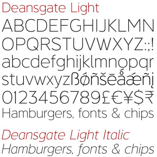 Deansgate Light