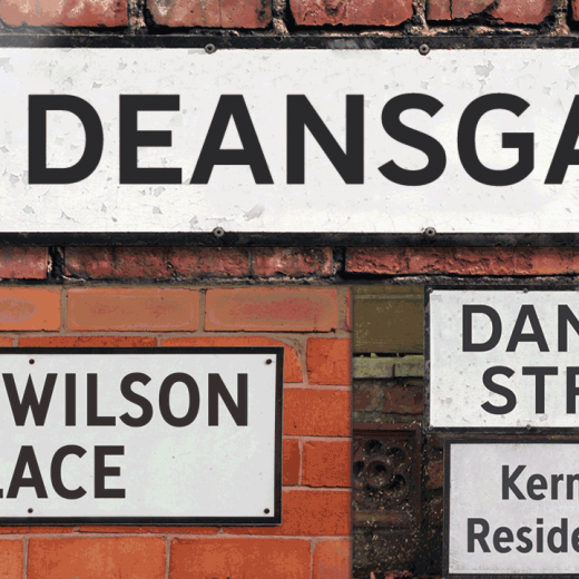 Deansgate Bold and Deansgate Bold Condensed