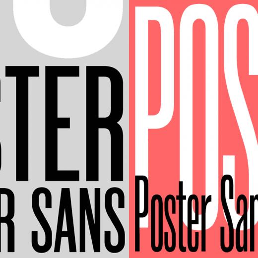 Poster Sans