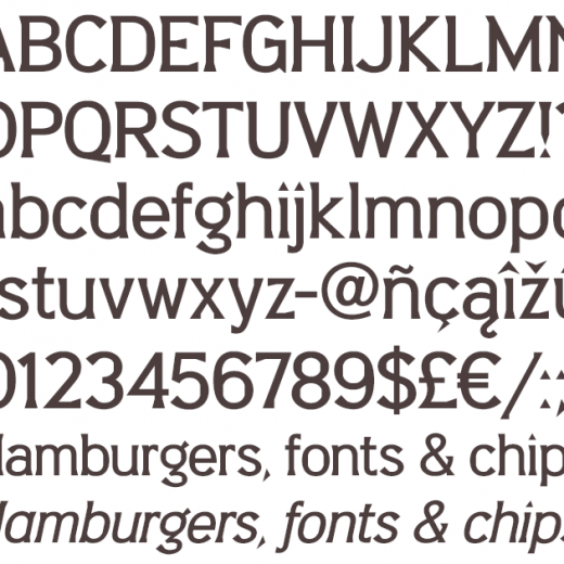 Barbica - Medium & Medium Italic