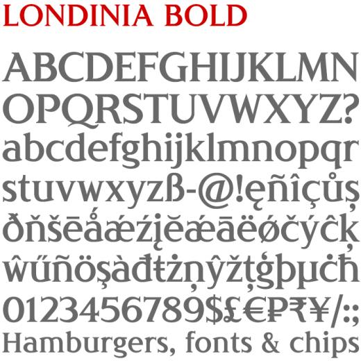 Londinia Bold