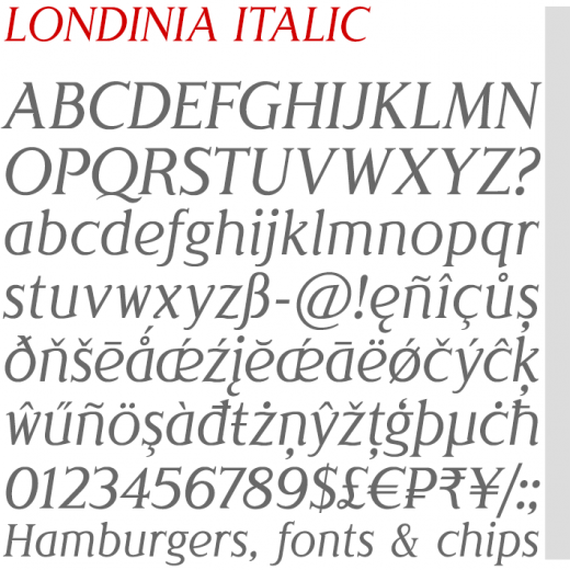 Londinia Italic