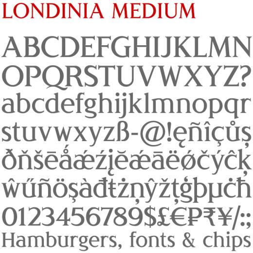 Londinia Medium