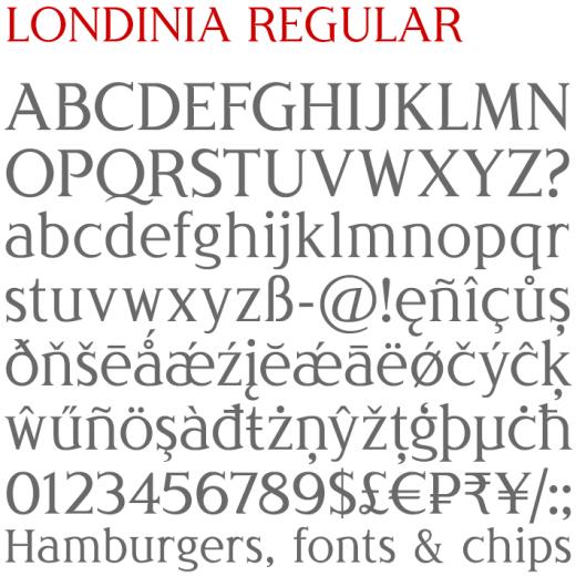 Londinia Regular