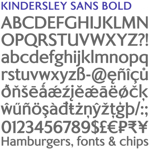 Kindersley Sans Bold