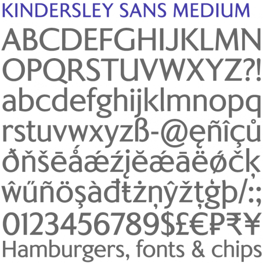 Kindersley Sans Medium