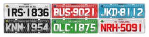 Brazil Vehicle Plates