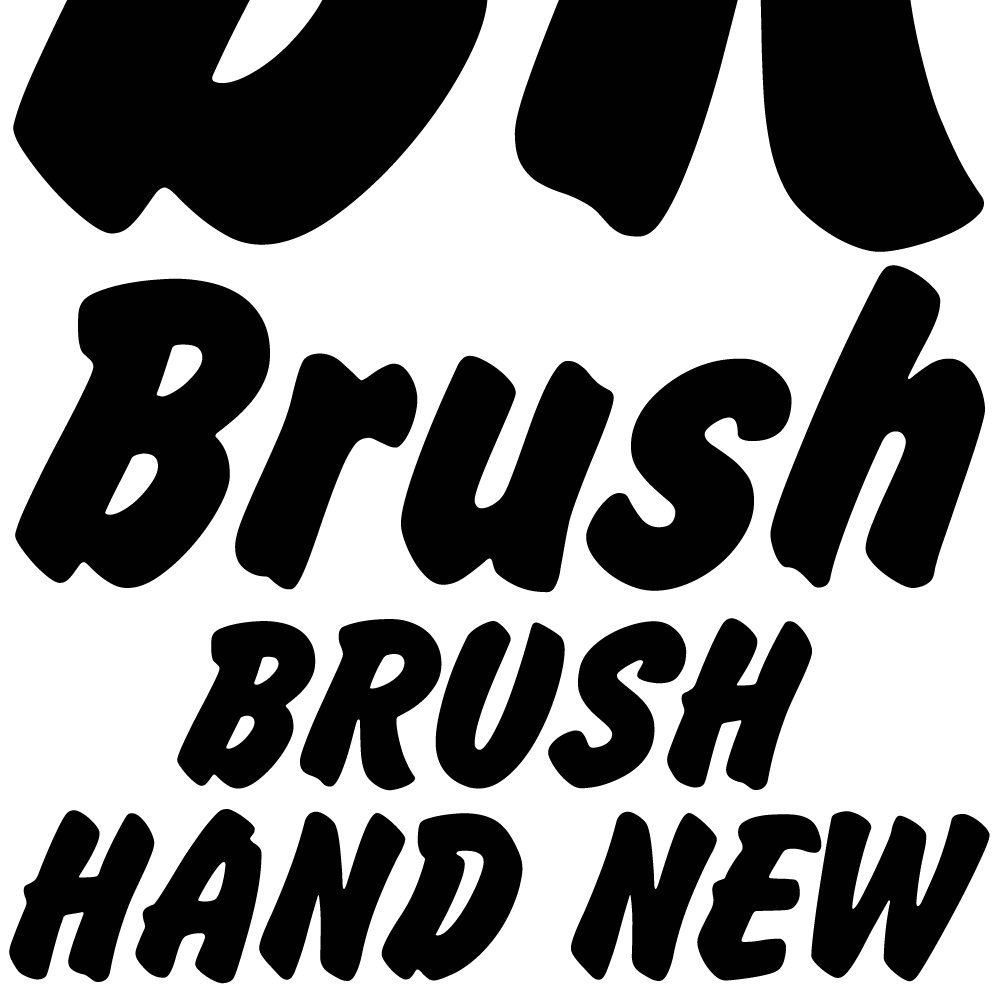 brush hand new k type