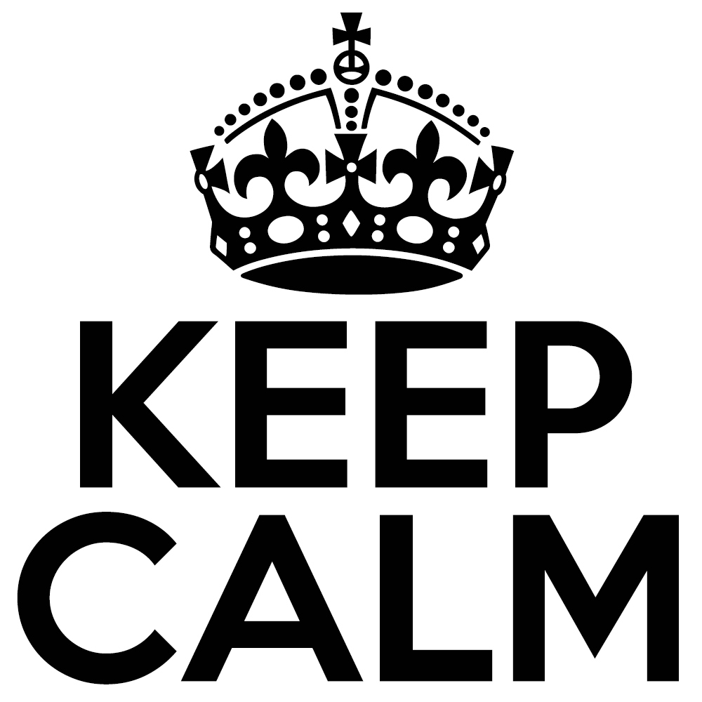 Keep Calm – K-Type