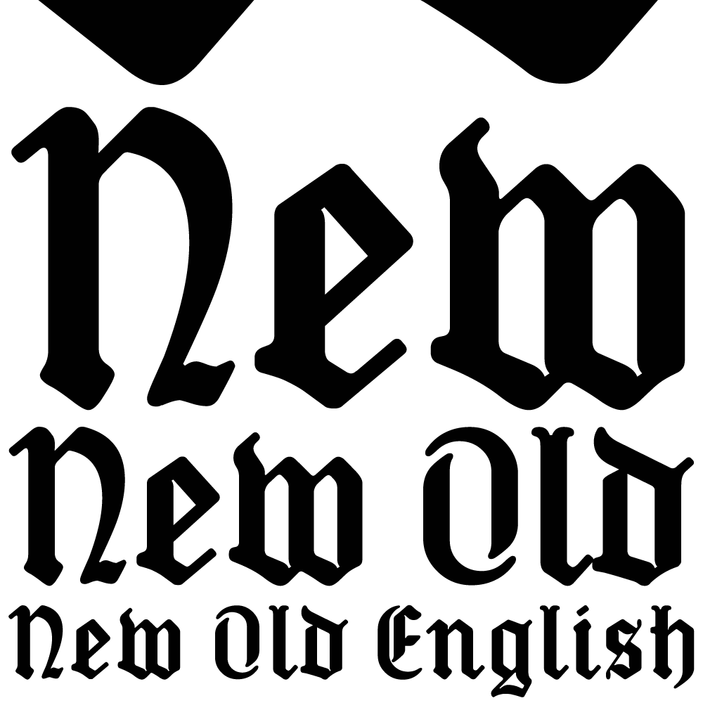 New Old English K Type